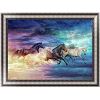 5D Diamond Horse Painting Embroidery DIY Craft Cross Stitch Kit Home Decor